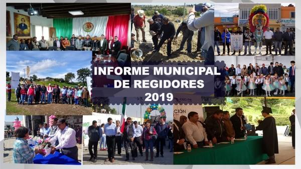 Oficio informe 2019